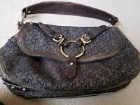 DKNY bag and matching wallet