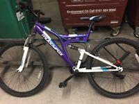 "Women mountain bike 26"" purple Muddyfox recoil"