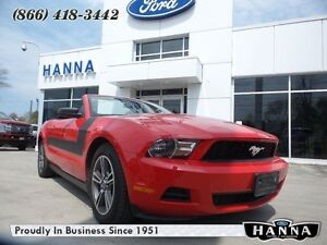 2010 Ford Mustang V6 PREMIUM CONVERTABLE *SPORT APPEARANCE PACKA
