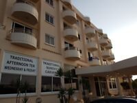 Pernera Cyprus 1 bedroom holiday apartment in a hotel complex sleeps 4