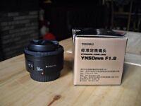 50mm 1.8 Prime Lens (Canon Fit)