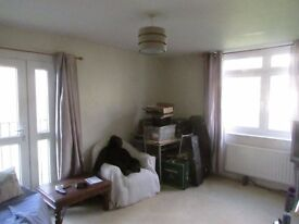 A Large one double bedroom purpose built flat