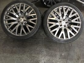 Alloy wheels 22 inch. Suit Range Rover ..discovery etc.