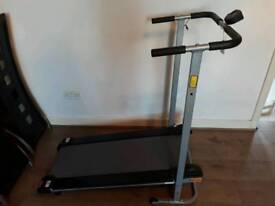 Pro Fitness Folding Manual Treadmill