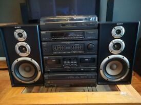 Classic SONY Stereo System Made In Japan Very Rare