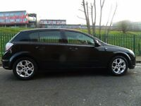 2006 VAUXHALL ASTRA 1.6 SXI PETROL MANUAL 5 DOOR HATCHBACK BLACK PRICED TO GO