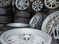 19inch BBS STAGGERED DEEP DISH alloys wheels audi a4 a6 a8 a5 5x112 golf vw caddy transporter t4 t3