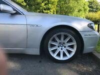 BMW 760LI SILVER V12 Huge Spec Over 100k New FBMWSH SPARES OR REPAIRS