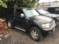 Mitsubishi Shogun di Breaking For Spares