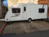 2011 swift fairway 540 caravan window side kitchen toilet ideal for conversion door with frame etc..