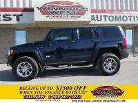 2008 Hummer H3 **JR GENERAL** Dark Blue, 4x4, Leather Heated Sea