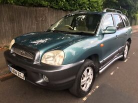2004 4x4 Hyundai Santa Fe 2.0 CRTD *Diesel GSI *4WD - Only 89,000 miles - 12 Months MOT