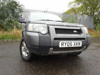 05 LAND ROVER FREELANDER TD4 SPORT2.0 DIESEL 4X4 MOT AUG 018,2 OWNER,2 KEY,PART HISTORY,STUNNING 4X4