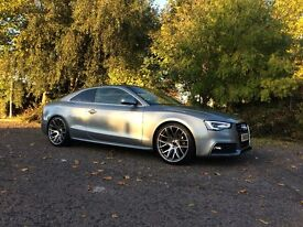 2008 AUDI A5 3.0 TDI COUPE S LINE QUATTRO COUPE GREY 2015 FACELIFT QUANTUM STAGE 2 NOT RS5 S5