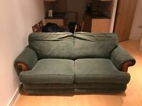 2 seater couch with fold out double bed for free