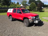 Toyota hilux double cab 2005 no vat PART EX considered
