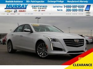 2016 Cadillac CTS *NAV SYSTEM,REMOTE START,HEATED SEATS*
