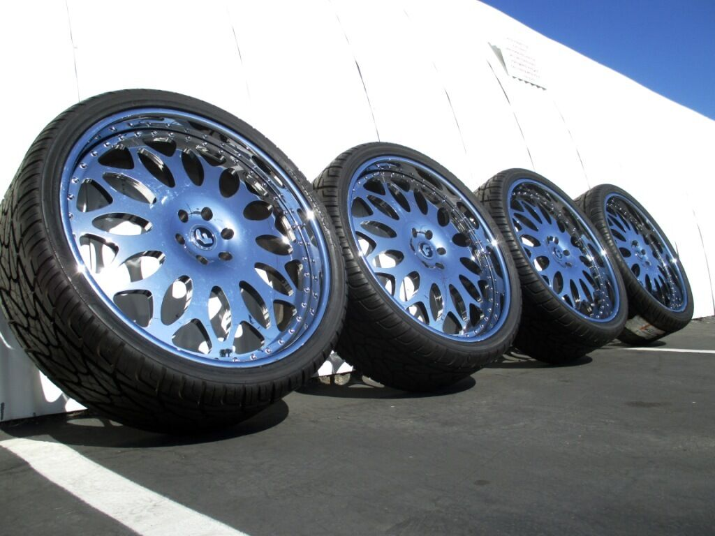"26"" Chrome Forgiato Cadillac Escalade Chevy Yukon asanti GMC 24 22 Denali Wheels"