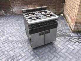 Falcon 4 burner range cooker