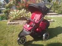 Phil and Ted Dot double buggy