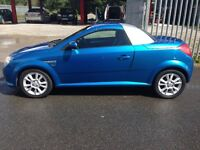 VAUXHALL TIGRA, VERY LOW MILES, CHEAP TAX.