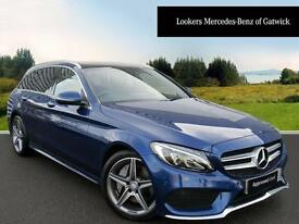 Mercedes-Benz C Class C250 D AMG LINE PREMIUM PLUS (blue) 2015-09-14