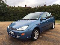 ford focus 1.6 ghia manual petrol clean car drives well