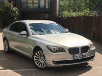 2011 BMW 730D LUXURIOUS MODEL SOFT CLOSE DOORS 81.000 MILES SAT NAV DVD NEW SHAPE PART X WELCOME