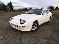Stunning 1986 White 944 2.5 petrol, service history