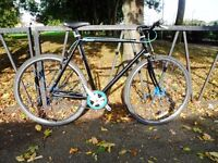 Large Lightweight MONGOOSE FIXIE Road Bike Bicycle. Fully Serviced & Ready To Ride. Guaranteed.