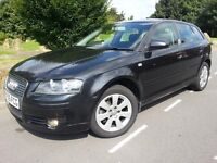 AUDI A3 2.0 TDI SE (5-DR) 2005 05'REG #NEW SHAPE#CHEAP TAX+INSURANCE#SEAT#GOLF#PASSAT#