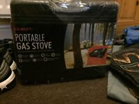 Portable gas stove - brand new unopened.