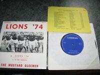 British Lions 1974 vinyl record 45 size