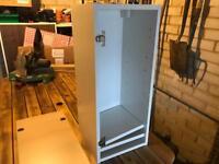 300mm kitchen wall unit with oak door