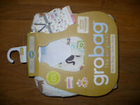 Original Travel Grobag/sleeping bag/slumber bag 2.5 tog for 6-10 YEARS old (up to 150cm), worn once!