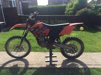 Ktm 525 exc 2006 originally 400