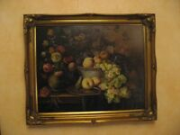 oil painting fruit