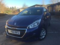 Peugeot 208 Active 1.2L PureTech 82 5 speed manual (+ visibility pack)