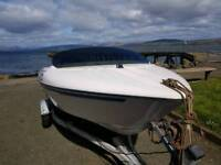 Bayliner jet boat speed boat 90hp inboard jet drive with trailer speedboat jetboat