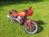 Rare Moto Guzzi 350 Imola Motorbike