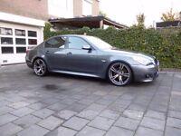 "19"" BMW STYLED ALLOYS SPIDER E60 E61 5 SERIES M SPORT"