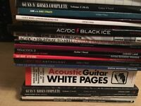 Guitar tab books for sale