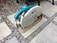 Makita 110v metal cut off saw. New blade. £65.