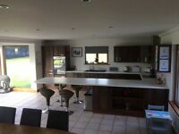 Complete Kitchen Inc All Appliance - Double Cooker, Hob, Extractor, Fridge/Freezer and Dishwasher.