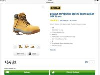 Dewalt apprentice safety boot size UK11 EU 45 in Honey (Brand New & Boxed)