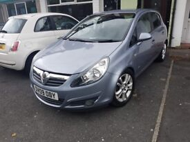 2009 vauxhall corsa 1.4 sxi 16v excellent condition, mot till January 2019,