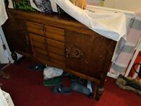 SELECTION OF FREE WARDROBES AND DRESSING TABLE CHEST OF DRAWERS SIDE UNIT TO BE TAKEN FOR FREE