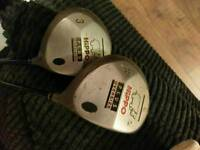 Hippo Plus Oversize Driver and 3 Wood