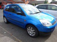 Ford Fiesta 1.2, 53 plate. Blue. Alloy wheels. Good first car, low insurance.