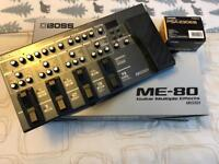 Boss me 80 pedal like new with boss ac adaptor worth £280 new